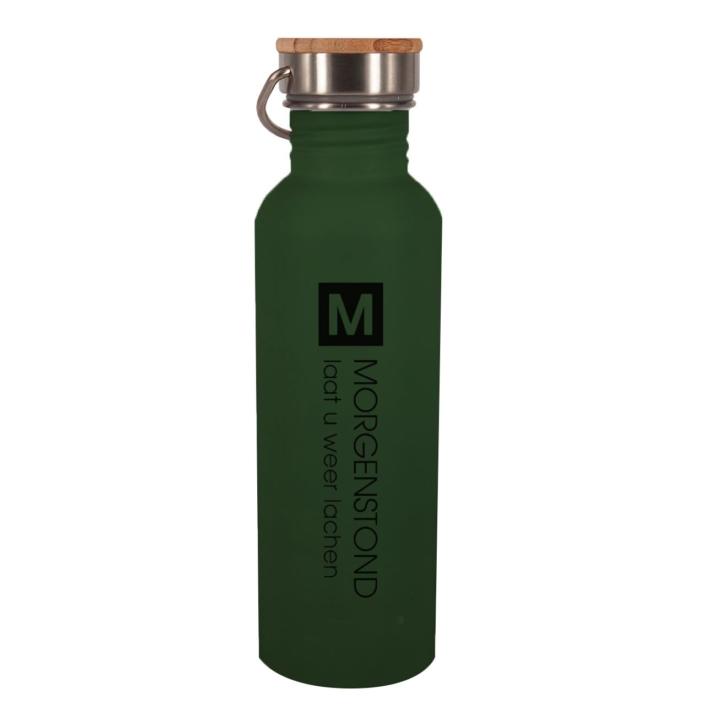 Bedrukte RVS Dark Green Morgenstond - Retulp Urban