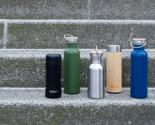 Retulp Bio drinkfles Trashtag blog
