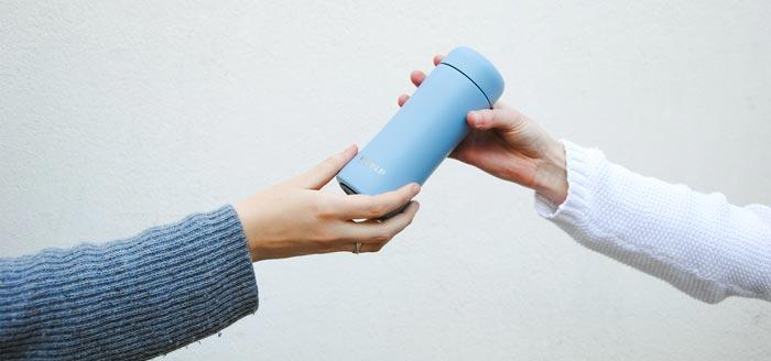Retulp koffiebeker relatiegeschenk eco